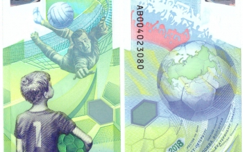 Новая банкнота 100 руб. посвящена чемпионату мира по футболу — 2018