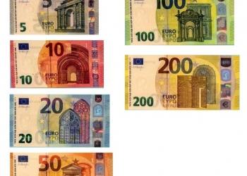 Готовится выпуск новых банкнот номиналом 100 и 200 евро