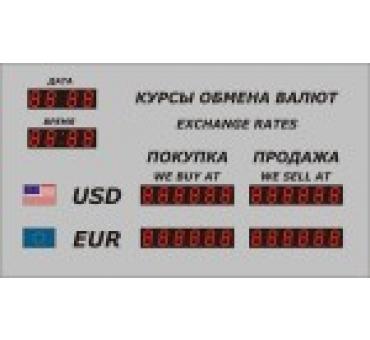Табло валют Р-2 с ДУ