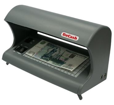 Ультрафиолетовый просмотровый детектор валют DoCash 530