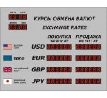 Табло валют Р-4 с ДУ